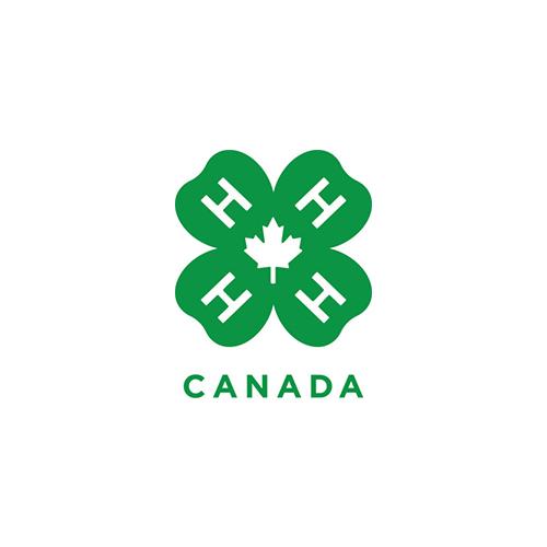 4-H Canada Logo