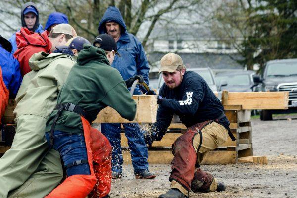 Woodsman Competition 3 - 4-H Weekend - phot credit Jon Fox Photography