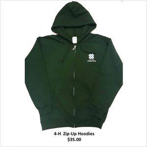 Hoodie Zipper - Green