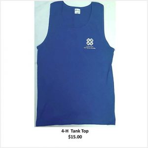 Tank top with logo - blue