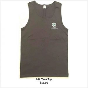 Tank top with logo - grey