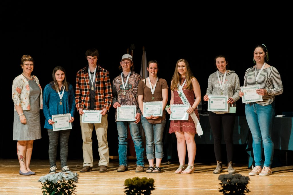 Group of award winners