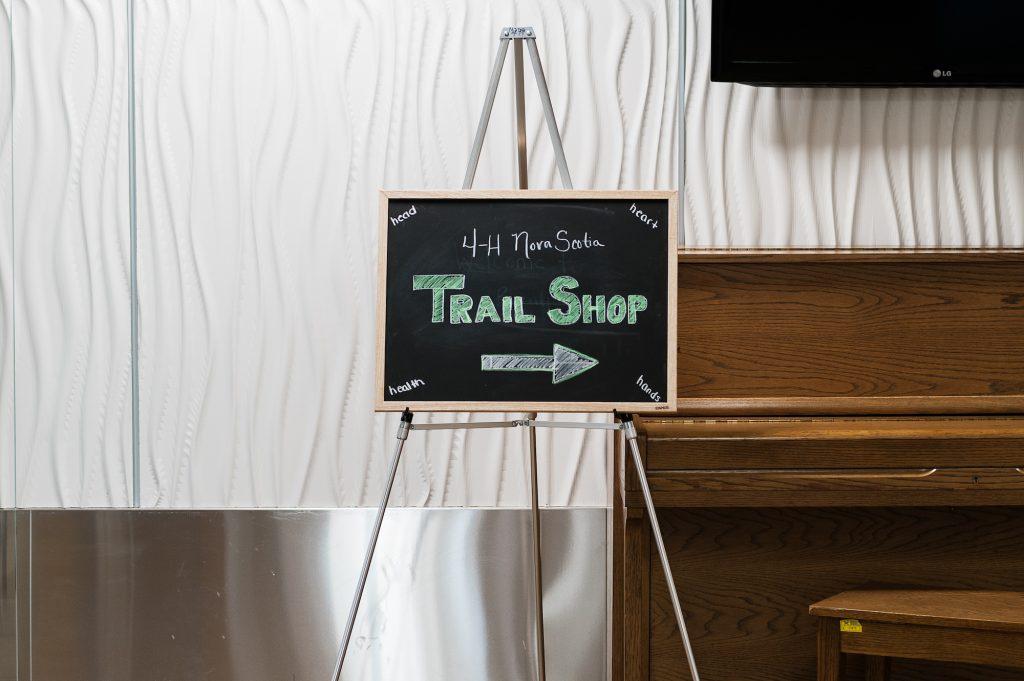 Trail Shop Sign