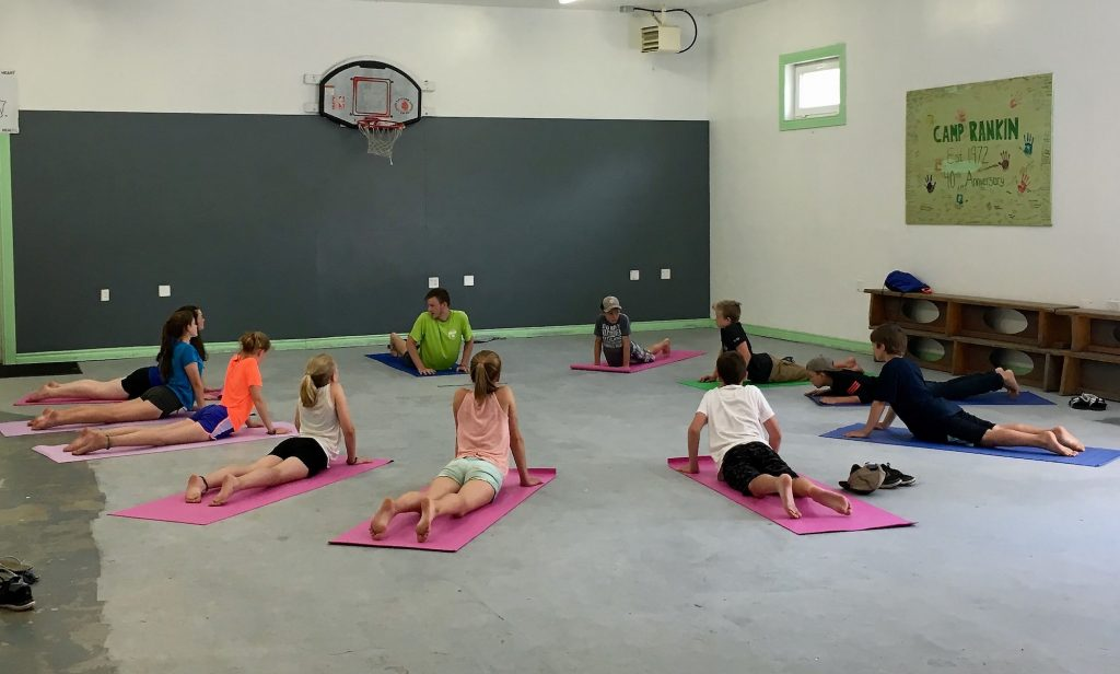 Camp Rankin Yoga