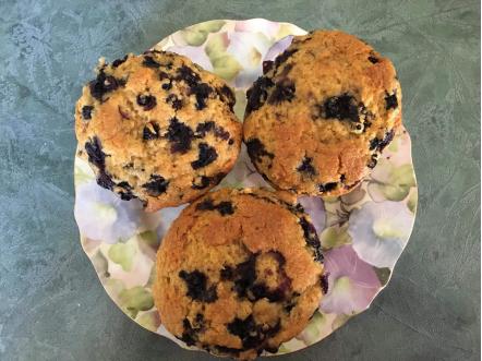 Mary Beth Freeman - 3rd Sr. (Blueberry Muffins)