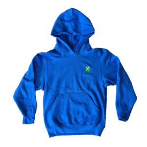 Blue Hoodie (Adult & Youth) - $30.00