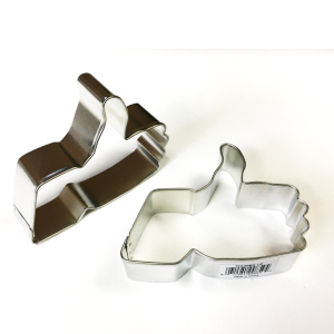 Thumbs-up cookie cutter - $4.00
