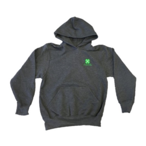 Grey Hoodie (Adult & Youth) - $30.00