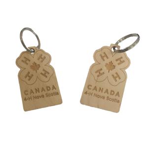Wooden Keychain - $3.00