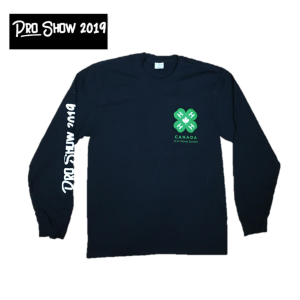 Youth Long Sleeve (S, M, L) - $3.00
