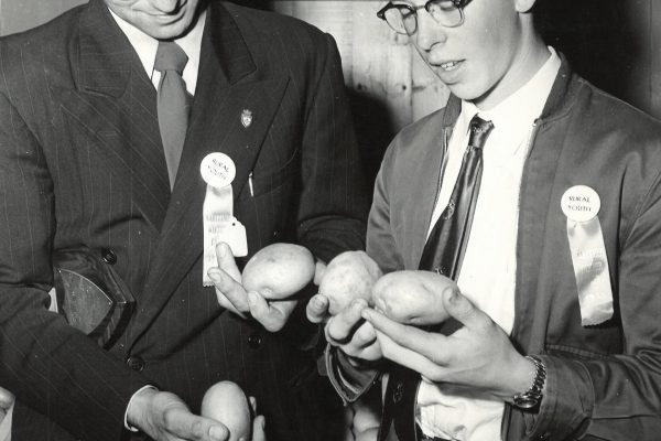 1953 winners of seed and crop comp (maritime winter fair)