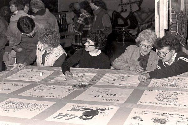 4-H Quilt - Pro Show 1984