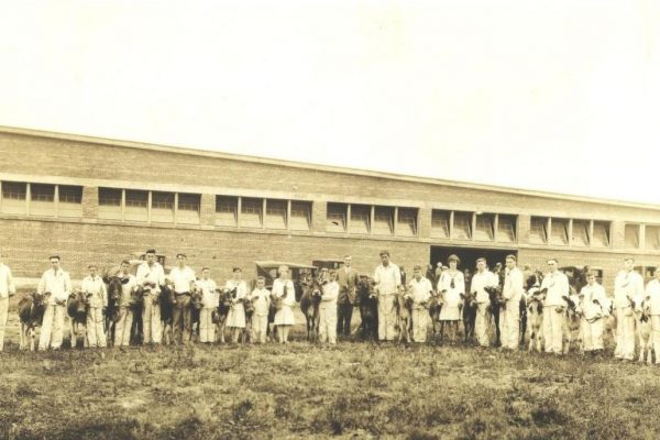 Calf Club Members, N.S. Provincial Exhibition 1929