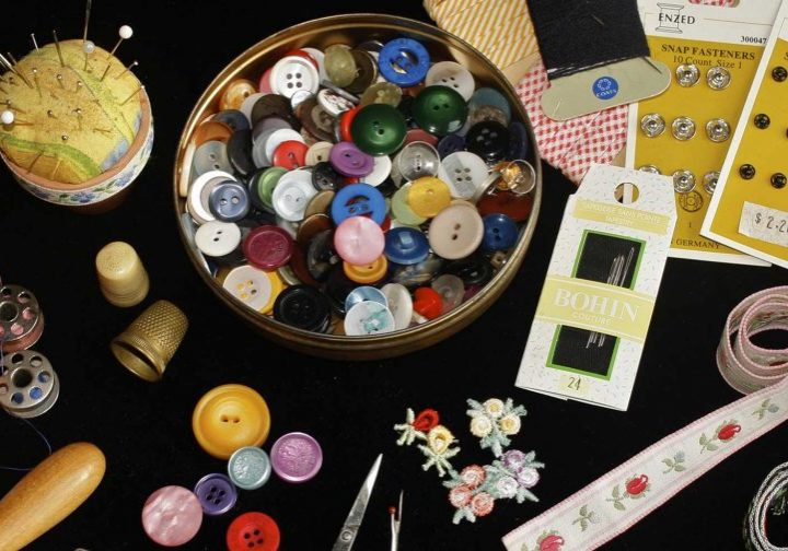 Sewing kit and materials